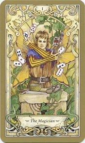 The Mystic Faerie Tarot- The Magician