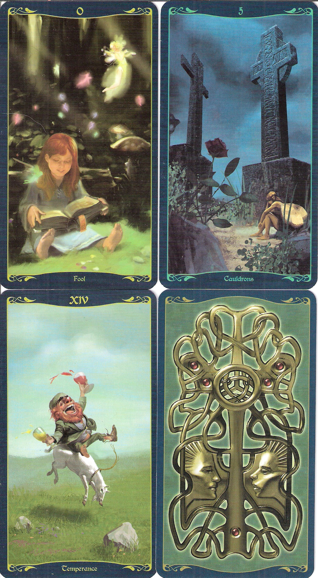 Celtic Tarot Product Summary: Tarot Of The Celtic Fairies
